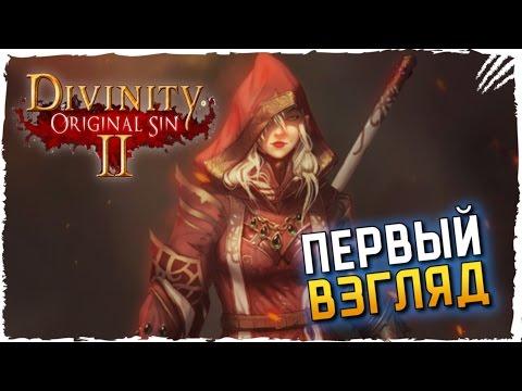 Divinity original sin 2 прохождение на русском первый взгляд и обзор