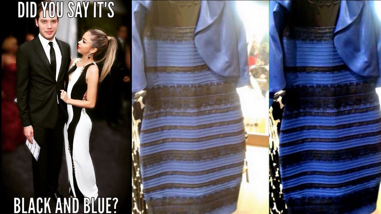 Celebs React to The Dress Debate: Black &amp Blue or Gold &amp White ...