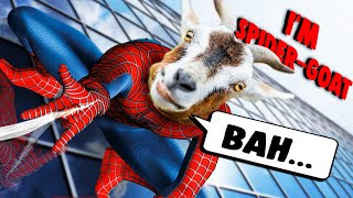 Hello, I AM SPIDER-GOAT! | Goat Simulator