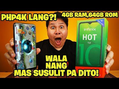 Infinix Hot 10 Play - Ang mas pinagandang gaming smartphone na may G35 gaming processor