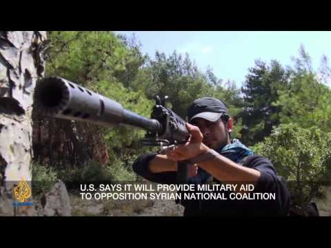 Inside Syria - Syria's call for arms