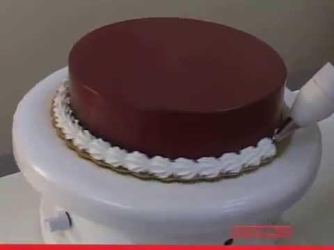 Cake Decoration machine - YouTube