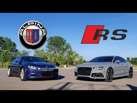 Alpina B6 Vs Audi RS7 Ownership Comparison