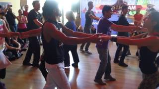 00220 BDF2017   ACD with Romina and Leo with Students ~ video by Zouk Soul