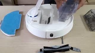 Cách tháo lắp và sử dụng robot hút bụi Liectroux Zk901