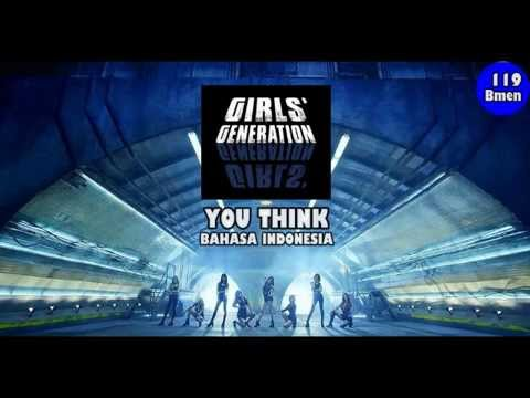 119 SNSD - You Think (Versi Bahasa Indonesia by Bmen) Boy Version