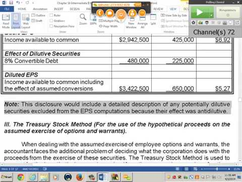 Intermediate Accounting II - Professor Sannella (Lecture 8, April 3, 2014)