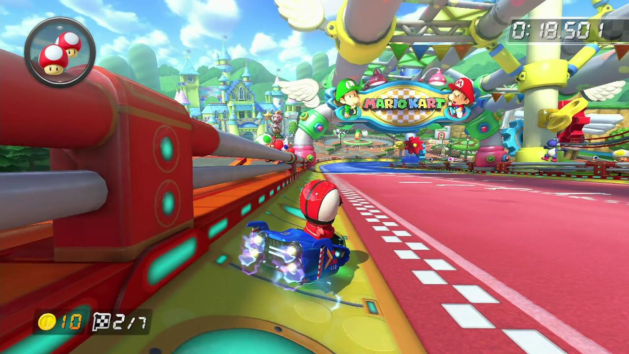 Baby Mario Mario Kart 8: Apple (Mario Kart 8 World