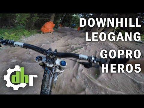 GoPro Hero5 Black SuperView Stabilization - Mountain Bike Downhill Bikepark Leogang
