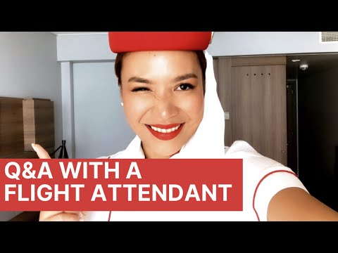 EMIRATES CABIN CREW Q&A (Part 1): Accra Layover