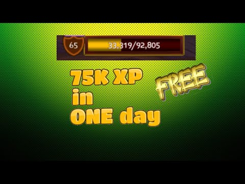 Arcane Legends | How To Get 75k XP Daily For Free !!!