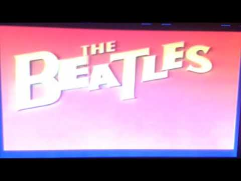 Opening to The Beatles Cartoon Series 2017 DVD Disc 1
