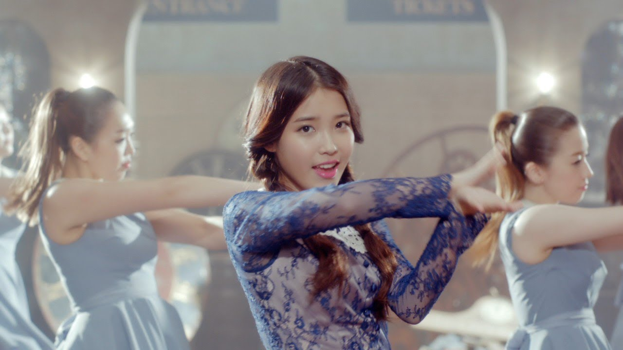 Iu Red Shoes Youtube