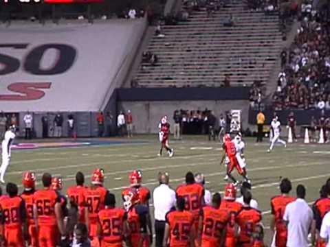 Nick Lamaison Pass to Jordan Leslie 2012 vs New Mexico State