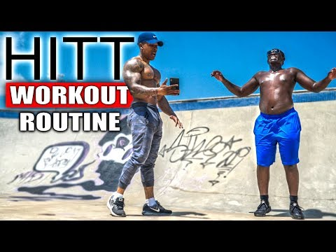10 MINUTE FAT BURNING WORKOUT (NO EQUIPMENT)