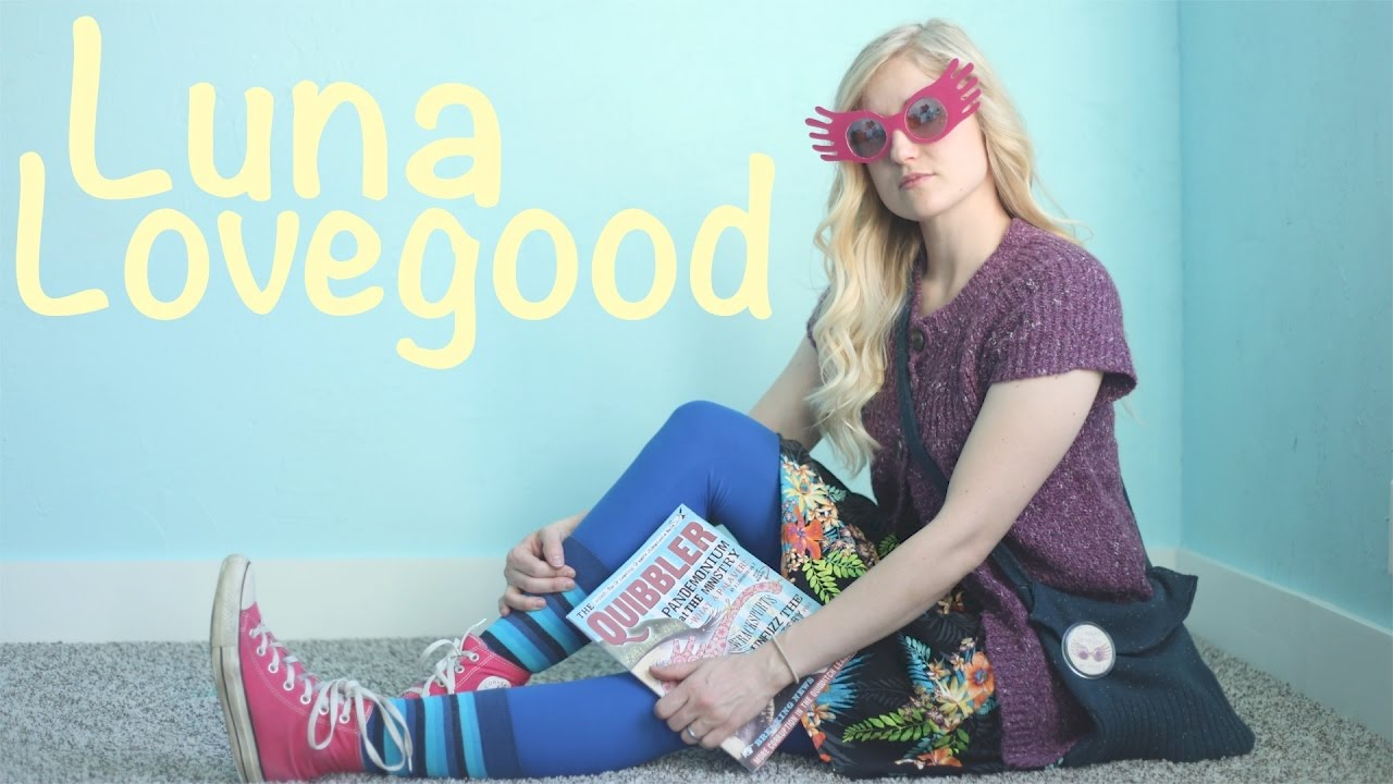 How To Make A Luna Lovegood Costume Harry Potter Cosplay Youtube