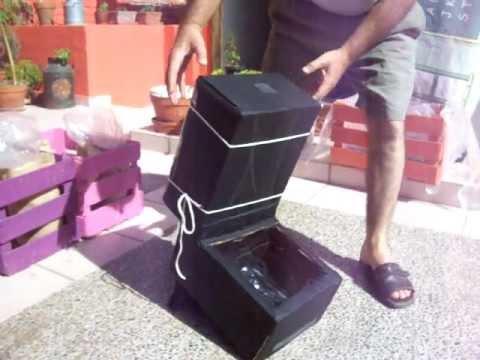 Deshidratador solar casero