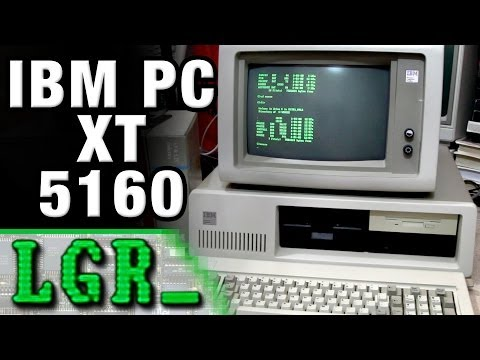 LGR - Looking at the IBM PC XT