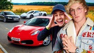 10 Most Expensive YouTuber Cars (Logan Paul, David Dobrik, Ace Family, Dobre Brothers)