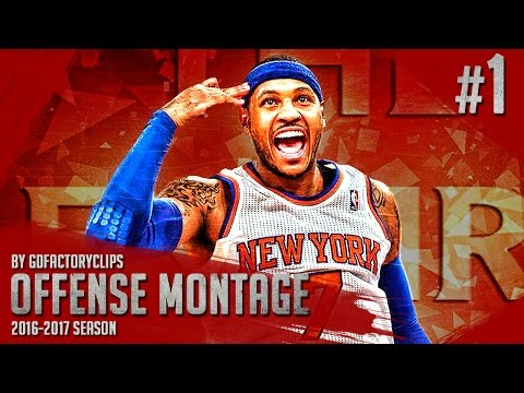 Carmelo Anthony Offense Highlights Montage 2015/2016 (Part 1) - GodMelo Mode!