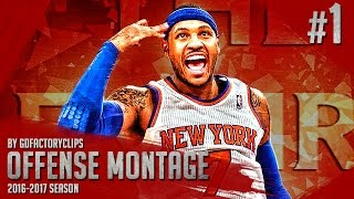 Repeat youtube video Carmelo Anthony Offense Highlights Montage 2015/2016 (Part 1) - GodMelo Mode!
