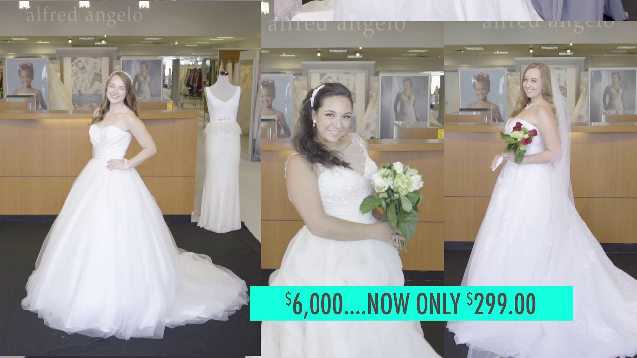 Alfred Angelo Bridal Liquidation Sale