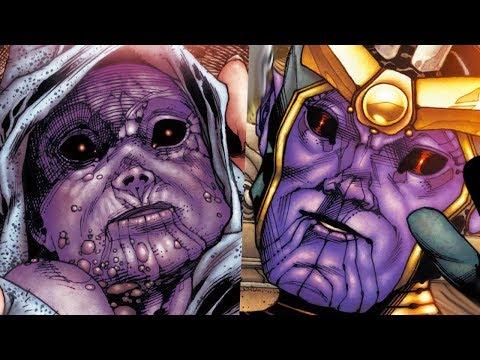 Так вот каким было детство Таноса