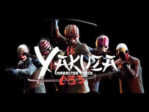Payday 2 - Yakuza Character Pack Trailer - PC