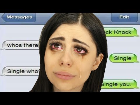 TEXTING PRANK TURNS INTO REAL BREAK UP