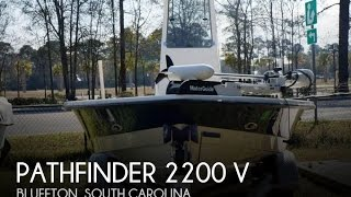 Used 2001 Pathfinder 2200 V for sale in Bluffton, South Carolina