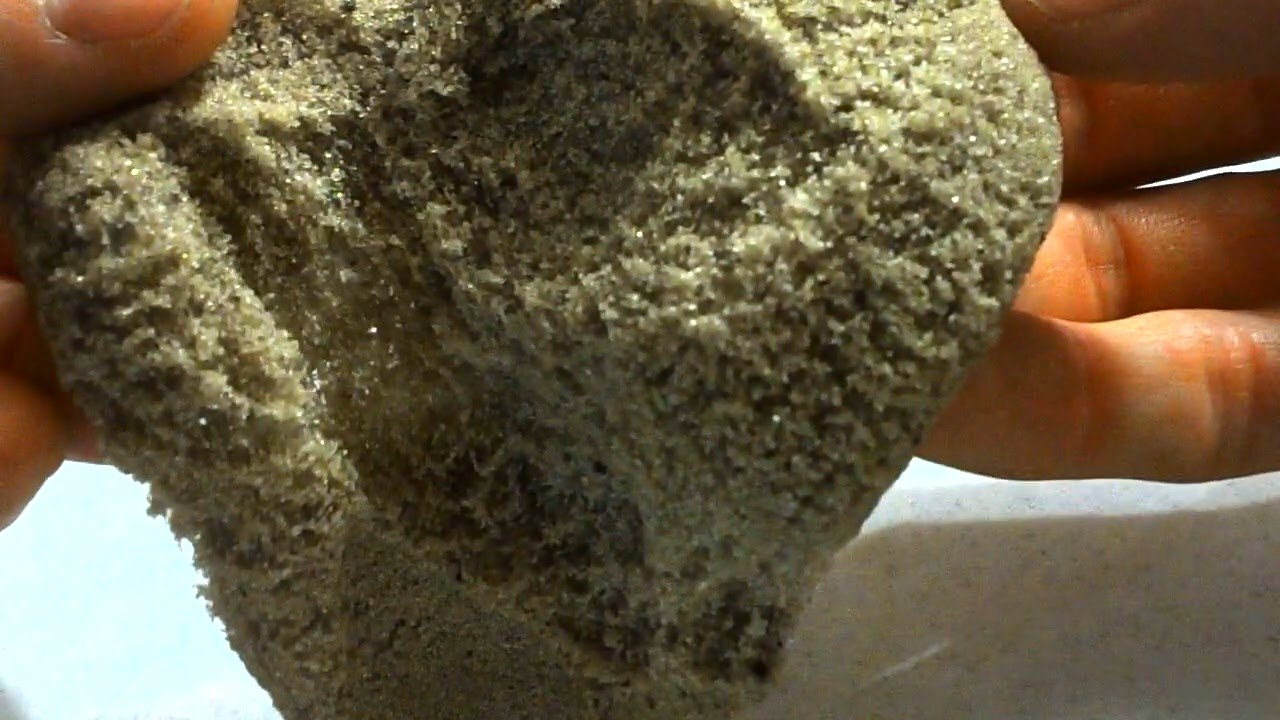 diy kinetic sand with boric asid and glue how to make amazing recipe youtube. Black Bedroom Furniture Sets. Home Design Ideas