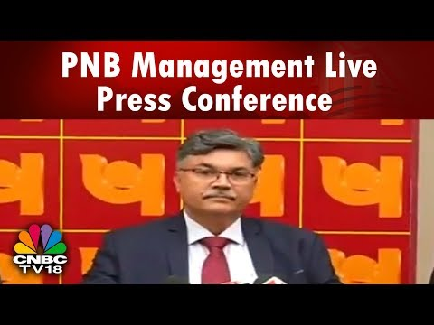 PNB Fraud: PNB Management Live Press Conference | CNBC TV18