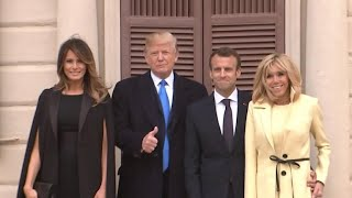 Trump and Macron find common ground ahead of state dinner