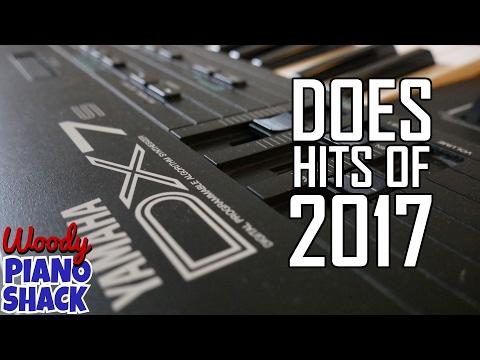 Yamaha DX7 does hits of 2017 | Ed Sheeran, DJ Snake, Major Lazer and more