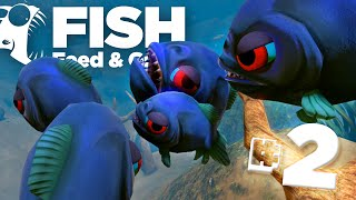 PIRANHA ATTACK!! - Feed And Grow | Ep2