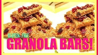 Gluten-free Granola Bars!