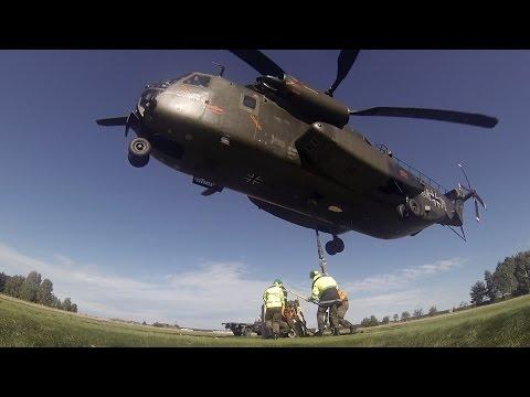 Reservisten üben mit der CH-53 - Bundeswehr