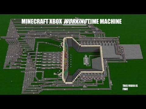 Minecraft working time machine xbox 360 youtube for Home design xbox