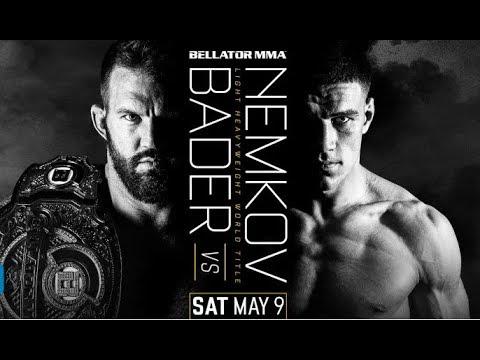 Вадим Немков сразится за пояс чемпиона Bellator 9 мая против Райана Бейдераа