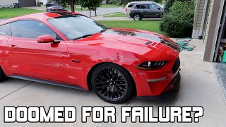 Mustang GT Wrecked Update Q/A Chat