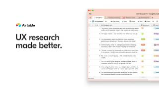 Build your UX research database with Airtable