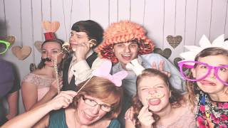 Atlanta Roswell Historic Cottage  PhotoBooth - Robert and Sarah's Wedding - RobotBooth