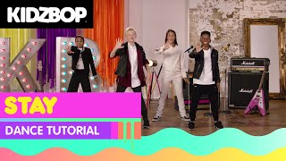 KIDZ BOP Kids - Stay (Dance Tutorial) [KIDZ BOP 2018]