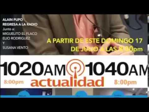Alain promo de Radio.