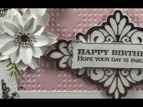 Dies R Us - Design Team Project #4 - May - Happy Birthday Card