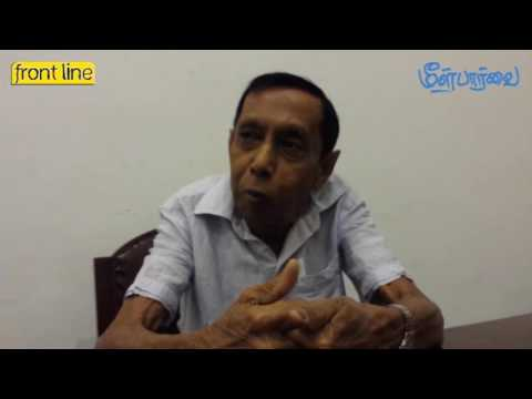 Frontline Interview with Senior Journalist Jayatilake De Silva