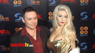 Courtney Stodden and Doug Hutchison Kissing on the Red Carpet - No Therapy Needed