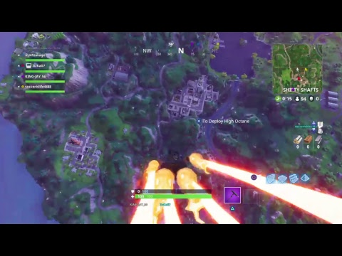 Hacker detected [fortnite gameplay]