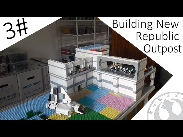 Building New Republic Outpost Moc #3 Das zweite Hangar Deck