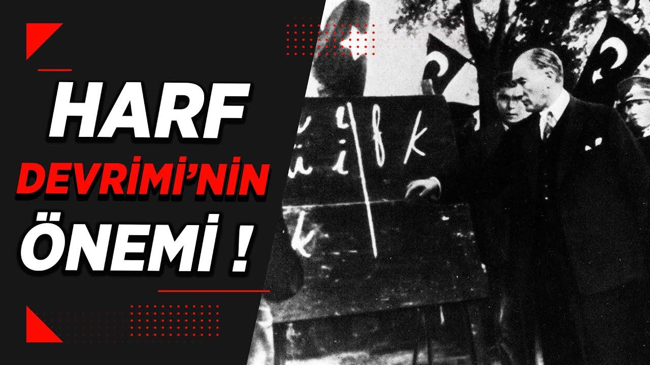 """""""Harf Devrimi Bizi Cahil Bıraktı, Geçmişimizden Kopardı!"""" İddiası"""